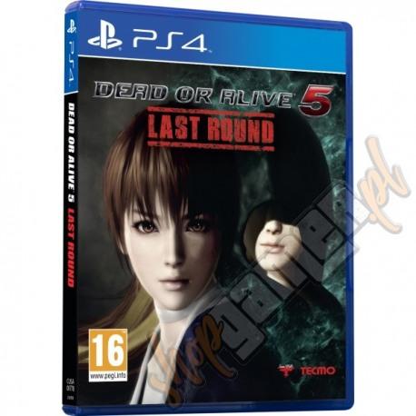 Dead or Alive 5 Last Round (nowa)