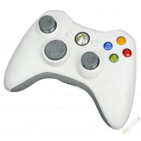 Gamepad Microsoft Xbox 360 White Bezprzewodowy (używany)