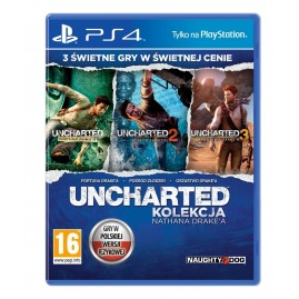 Uncharted: Kolekcja Nathana Drake'a PL (używana)