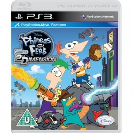 DISNEY PHINEAS AND FERB ACROSS 2ND DIMENSION (nowa)