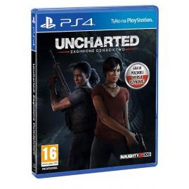 Uncharted: Zaginione Dziedzictwo PL (używana)