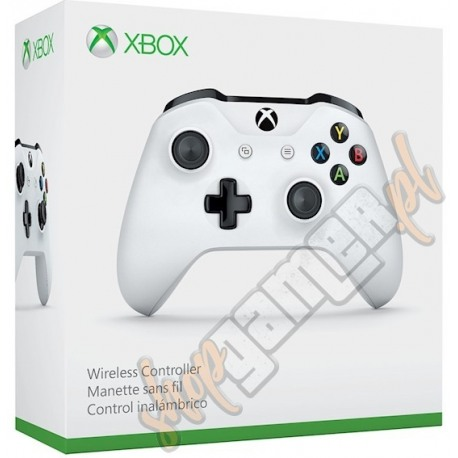 Gamepad Xbox One Wireless Controller S Biały