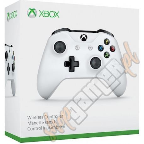 Gamepad Xbox One Wireless Controller S Biały