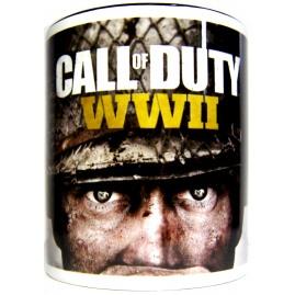 KUBEK Call Of Duty WWII Biały (nowy)