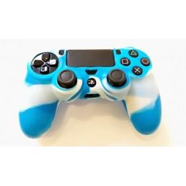 Etui na pada do PS4 Biało-Niebieskie (nowe)