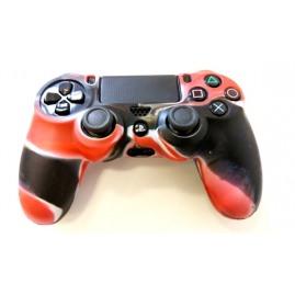 Etui na pada do PS4 Czerwono-Czarne (nowe)