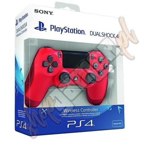 Dualshock 4 czerwony (nowy)