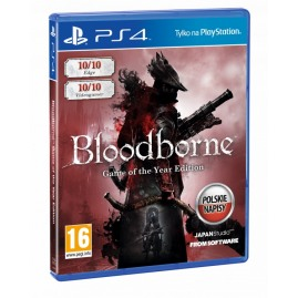 Bloodborne Game Of The Year Edition PL (nowa)