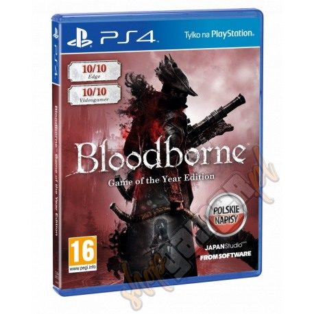 Bloodborne Game Of The Year Edition (nowa)