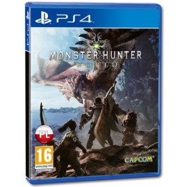 Monster Hunter World PL (używana)