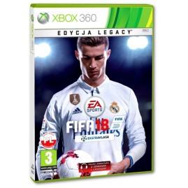 FIFA 18 EDYCJA LEGACY PL (używana)