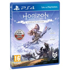 Horizon Zero Dawn Complete Edition PL (używana)