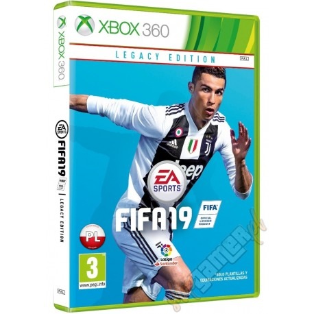 FIFA 19 Edycja Legacy PL (PREORDER - Premiera 29.09.2018)