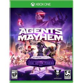 Agents of Mayhem PL (używana)