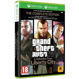 Grand Theft Auto IV Complete Edition (używana)