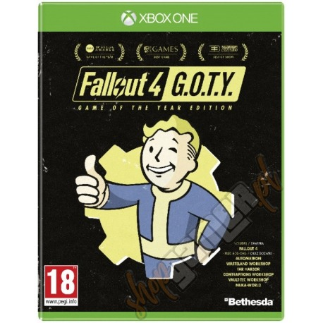 Fallout 4: Game of the Year Edition (używana)