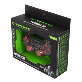 Pad ESPERANZA do PC/PS2/PS3 Czerwony Przewodowy (nowy)