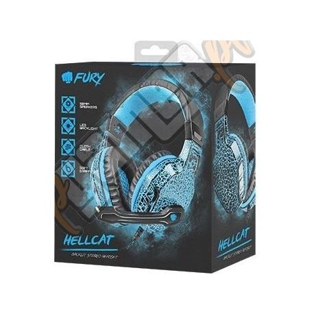 Słuchawki Natec Fury Hellcat (nowe)