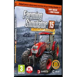 FARMING SIMULATOR 15 OFICJALNY DODATEK (nowa)
