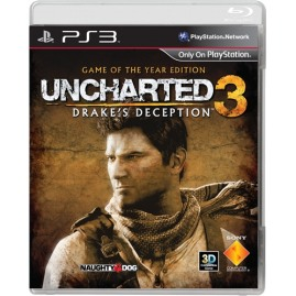 Uncharted 3 Oszustwo Drake'a GOTY PL (używana)