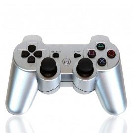 Pad do PS3 Bezprzewodowy srebrny (nowy)