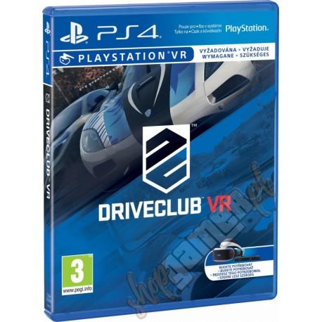 DriveClub VR PL (używana)