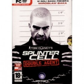 TOM CLANCY`S SPLINTER CELL DOUBLE AGENT PL (nowa)