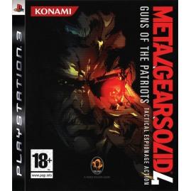 Metal Gear Solid IV (używana)