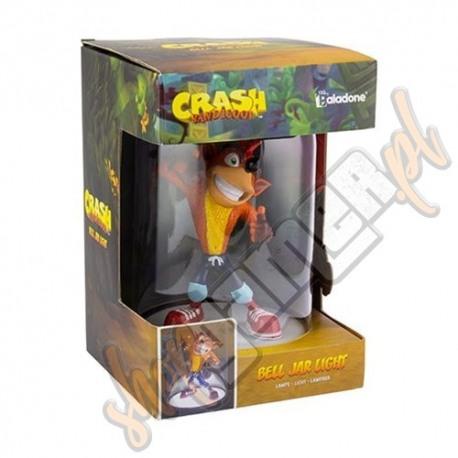 Lampka Crash Bandicoot Bell Jar 22cm (nowa)