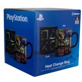 Kubek Zmieniający Kolor Playstation Heat Change Mug (nowy)