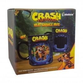 Kubek zmieniający kolor Crash Bandicoot (nowy)
