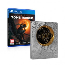 Shadow Of The Tomb Raider Steelbook Edition PL (używana)