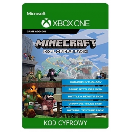 Minecraft - Dodatek Explorer Pack XONE/PC (Kod)