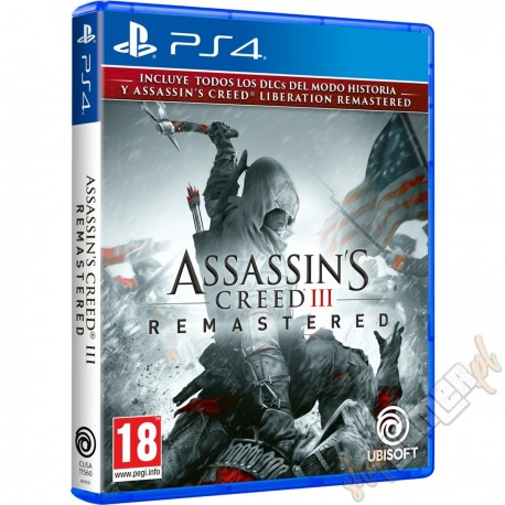 Assassin's Creed III Remastered PL (używana)