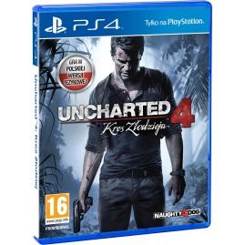 Uncharted 4: Kres Złodzieja PL DUBBING (używana)