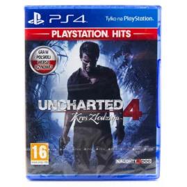Uncharted 4 Kres Złodzieja PL (nowa)
