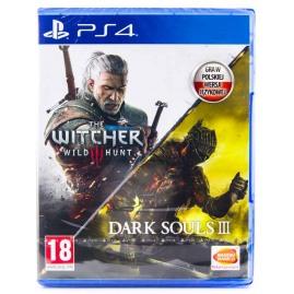 Dark Souls III + Wiedźmin 3 Double Pack PL (nowa)