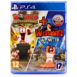 Worms Battlegrounds + Worms W.M.D. (nowa)