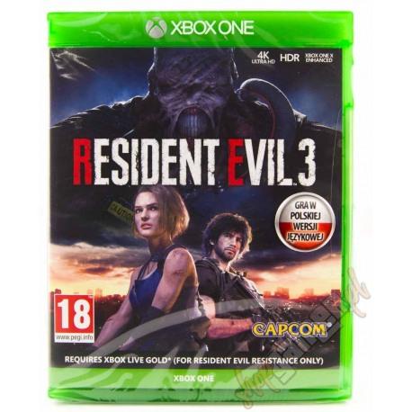 Resident Evil 3 Remake PL