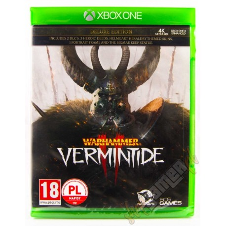 Warhammer Vermintide 2 Deluxe Edition PL (nowa)
