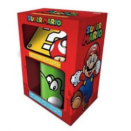 Zestaw prezentowy Nintendo Super Mario (Yoshi) zawiera: kubek, podkładkę, brelok