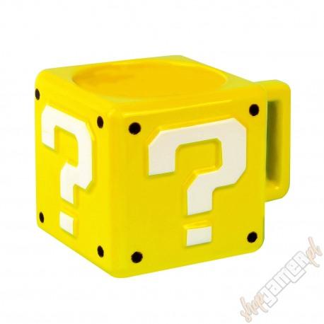 Kubek Super Mario - Question Block (nowy)
