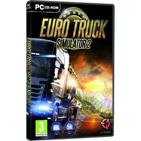EURO TRUCK SIMULATOR 2 PL (nowa)