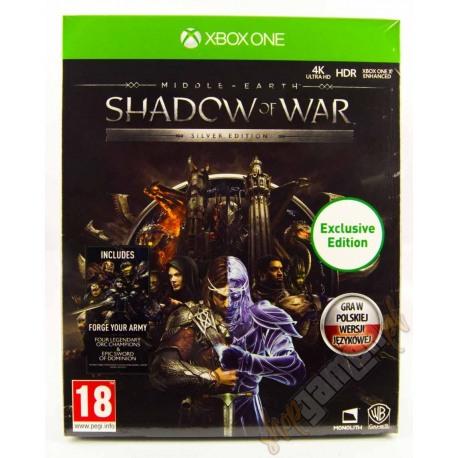 Śródziemie Cień Wojny Silver Edition PL (nowa)