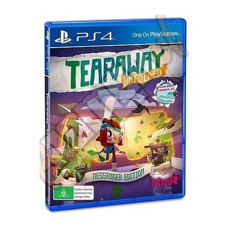 Tearaway Unfolded Messenger Edition (nowa)