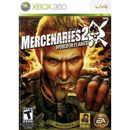 Mercenaries 2: World in Flames (używana)