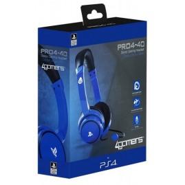 Słuchawki 4GAMERS PRO4-40 PS4 niebieskie (nowe)