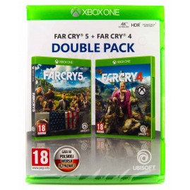 FAR CRY 4 + FAR CRY 5 Double Pack PL (Nowa)