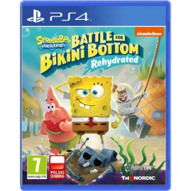 SpongeBob SquarePants: Battle for Bikini Bottom - Rehydrated PL (używana)