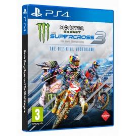 Monster Energy Supercross The Official Videogame 3 (używana)